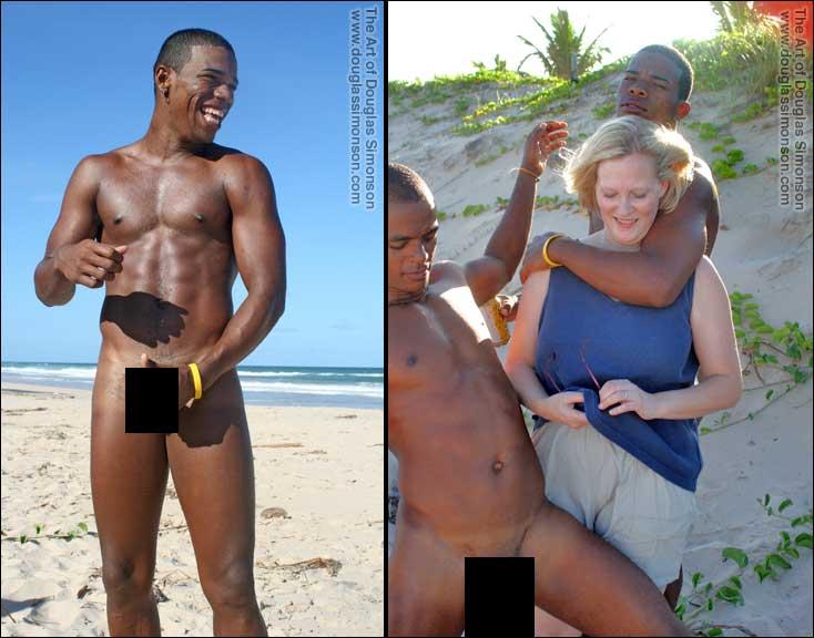 Brazilian nude male beach