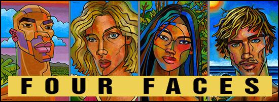 4faces heading