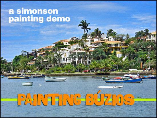 Painting buzios header